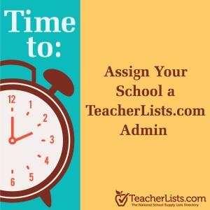 Assign a school list admin logo