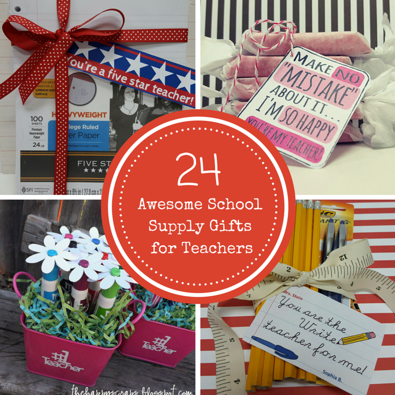 24 school supply gift ideas for teachers negle Choice Image