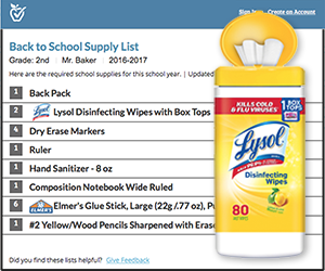 Schools Add Lysol To Their 2016 17 Supply Lists