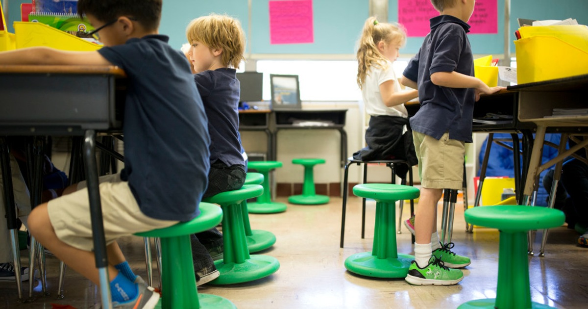 wobble chairs for classroom 15 ways to get moving in the classroom