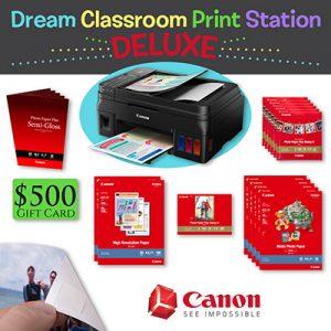 Canon dream classroom print station
