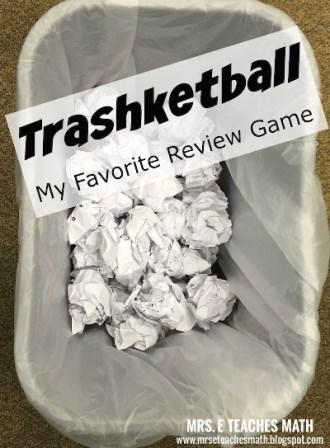 waste basket with paper balls inside