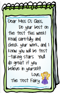 motivational notes written on a flip notebook cartoon