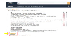 amazon landing page screenshot