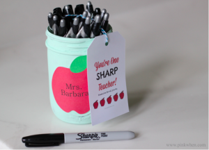 can with sharpie markers