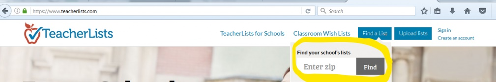 How to Upload your List | TeacherLists