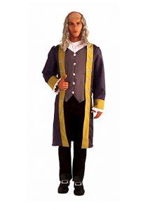 Man wearing Ben Franklin Costume