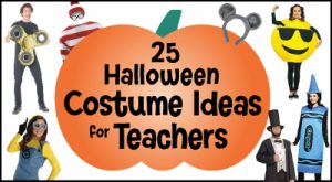 25 Halloween Costume Ideas for Teachers Logo