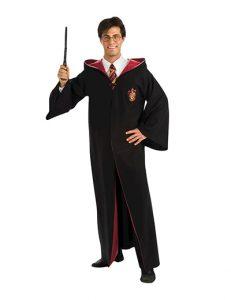 Man wearing Harry Potter costume