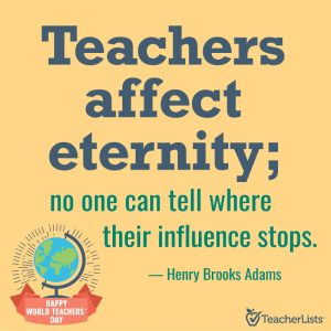 Henry Brooks Adams teacher quote