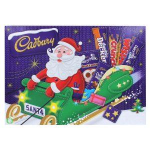 Cadbury chocolate Santa gift box