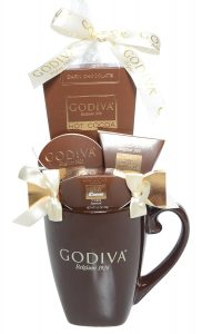 Godiva chocolates and gift mug