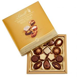 Lindt assorted chocolates
