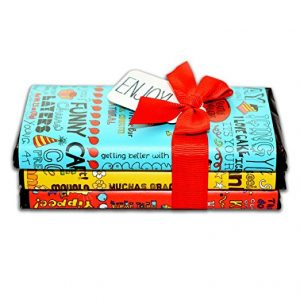 Seattle chocolate candy bar gift set