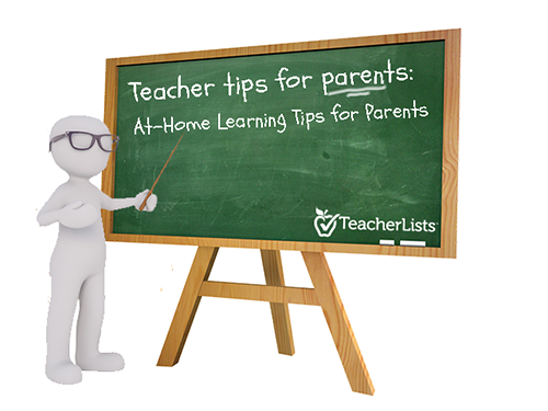 At-Home Learning Tips for Parents
