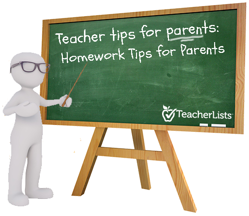 Homework Tips for Parents