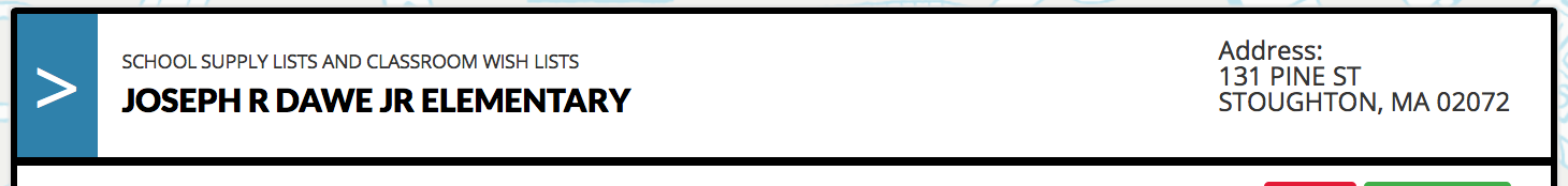 Wish List Screenshot