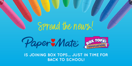 Paper Mate and Box Tops image
