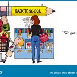 back to school budget cartoon for twitter