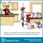 back to school frazzled wife cartoon