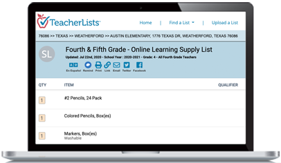 How To Create a Back-to-School Supply List for Distance Learning