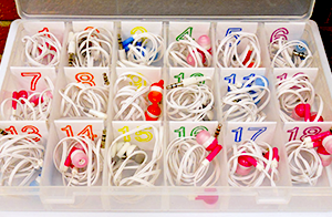 organization hack for earbuds