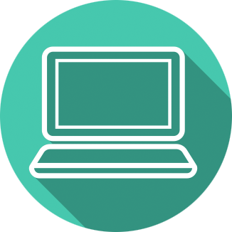 Icon image of a computer.