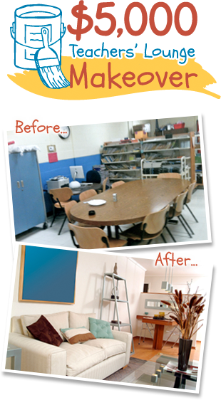 Teachers' Lounge Makeover
