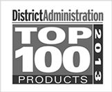 District Administration Top 100 Products Award logo