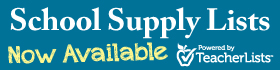 Supply lists now available blue background banner