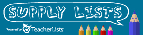 Supply lists. Powered by TeacherLists.